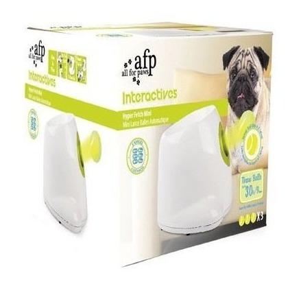 lanzapelota para perros hyperfetch mini all for paws + envío