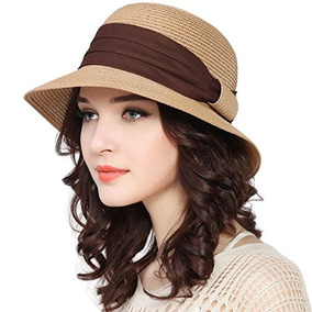 bajo costo costo moderado venta de tienda outlet Lanzom Upf50 Sombrero De Playa Para Mujer Con Tirantes Ancho