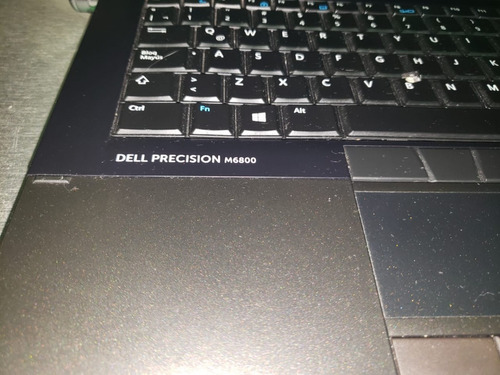 lap dell m6800  workstation core i7  17pulg 16 gb ram 1tb