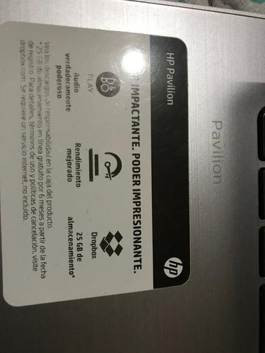 lap top hp color blanco 6gb y 1 tb disco duro