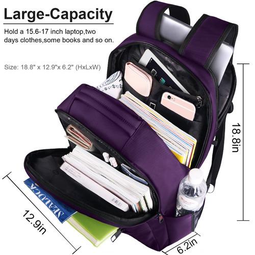 lapacker 15.6 - mochilas de computadora de negocios resis