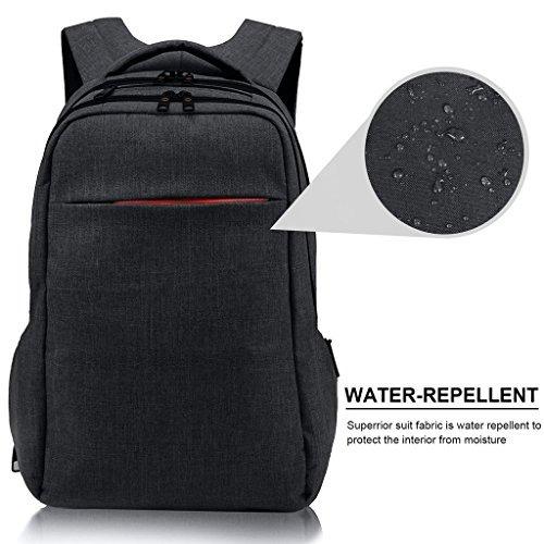 lapacker 15.6 pulgadas anti theft delgado resistente al agua