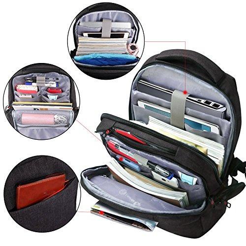 lapacker mochila antirrobo para laptop de 156 pulgadas imper