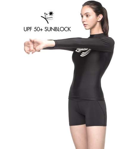 lapasa de manga larga para mujer surf swim shirt lapasa p