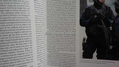 lapd - policia de los angeles k-9 swat terrorismo