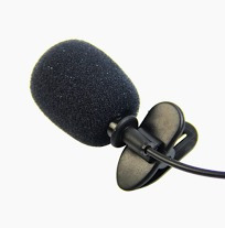 lapela microfone de lapela p2 stereo youtubers profissional