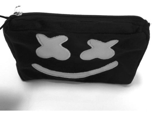 lapicera dj marshmello bordada color negro music edc