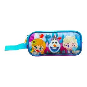 Lapicera Escolar Doble Disney Emoji Frozen 1688