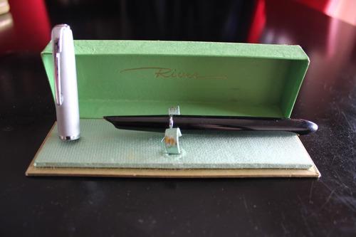 lapicera fuente estilografica river r3 vintage nueva en caja