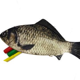 Lapicera Hombre Mujer Pescado Pez Realista Porta Lapices
