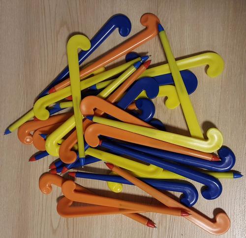 lapicera palo de hockey souvenir stick regalo