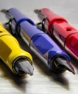 lapicera pluma estilografica lamy safari varios colores