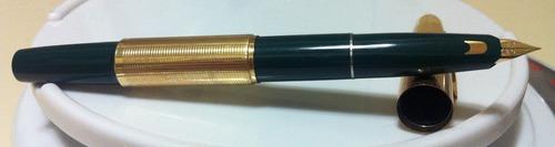 lapicera pluma fuente namiki pilot r14k 1970's telescopica