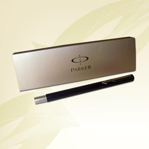 lapicera pluma parker vector bordo/azul/negra + cartucho