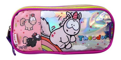 lapicera unicornio chenson estuche escolar niña nici 63963