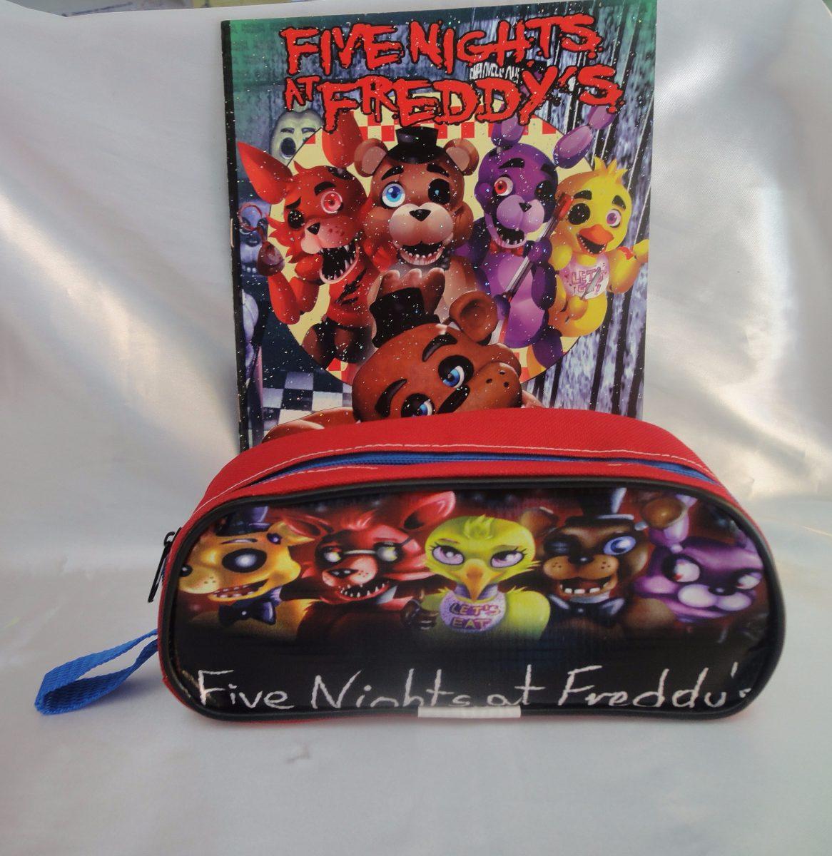 Lapicera Y Libro Para Colorear De Five Nights At Freddys