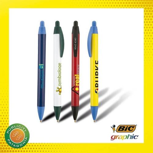 lapiceras bic personalizadas con logo!! wide body