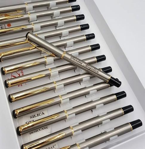 lapicero acero personalizado esfero en acero envio gratis