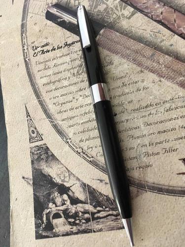 lapicero portaminas sheaffer imperial vintage mina 0.9 mm