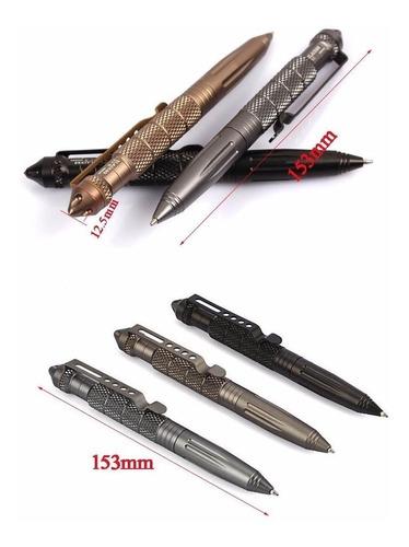 lapicero tactico ,autodefensa de aluminio con rompre vidrio
