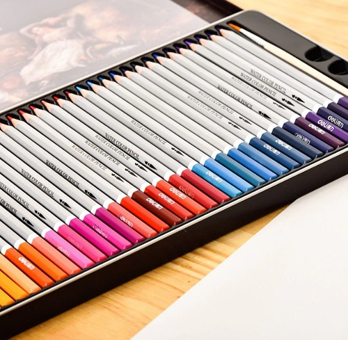 lapices 72 colores premier pro softcore ilustracion + envio