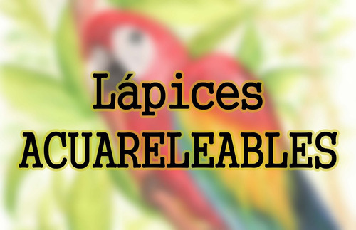 lapices color faber castell x12 acuarelable largo