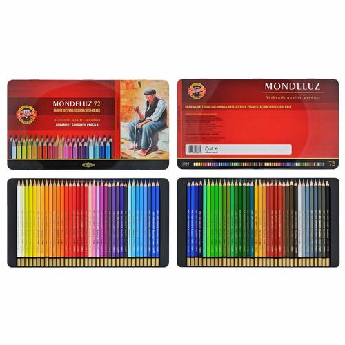 lapices color koh-i-noor mondeluz x 72 colores
