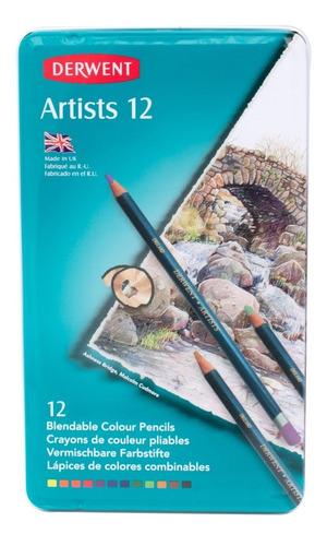 lápices combinables dibujo arte diseño derwent 12 colores