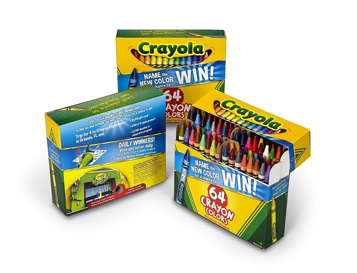 Lápices De Colores Crayola 64 Count (juego De 3), Lápices De ...