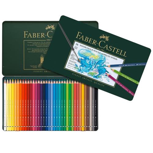 lápices de colores faber castell durer x36 acuarelables