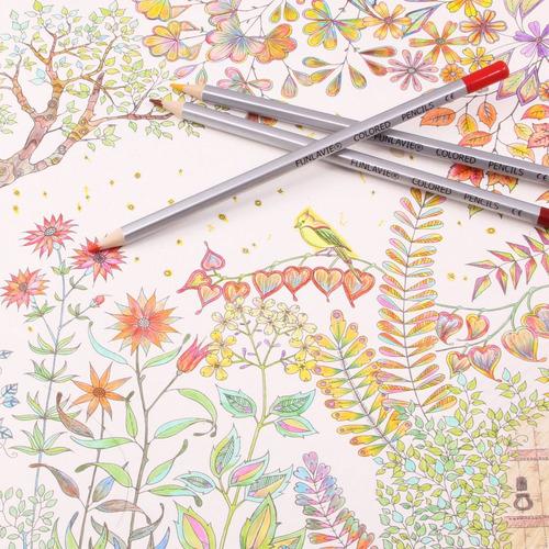 lápices de colores funlavie 24 lápices de colores arte super