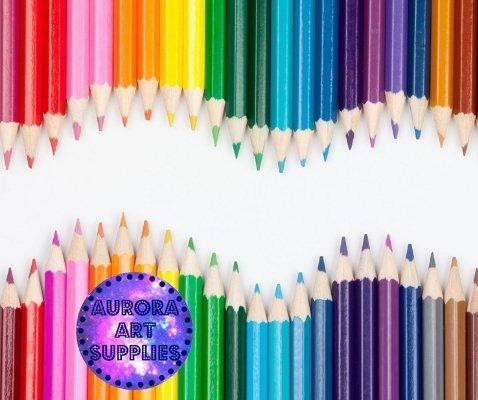 Lápices De Colores Para Páginas Para Colorear Y Libros Pa ...
