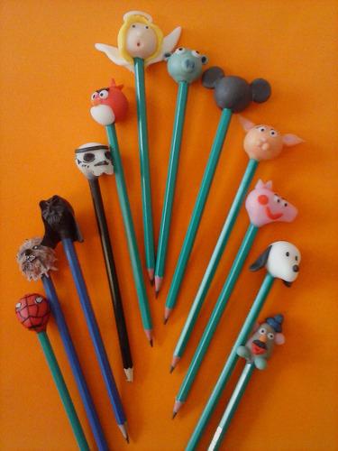 lapices decorados para souvenirs