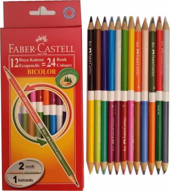 color marr/ón 3 unidades L/ápiz Faber-Castell