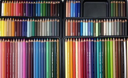 lapices importados prismacolor premier lata de 132 colores
