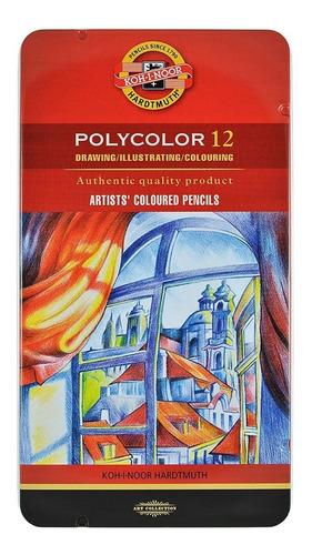 lápices koh-i-nor l polychromos x12 lápices policromos
