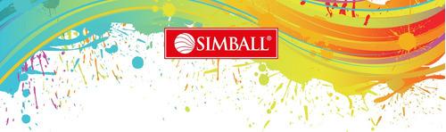 lapices largos simball 16=24 colores pinturitas bicolor