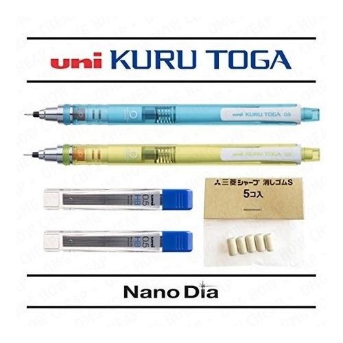 lápices mecánicosuni bola de kuru toga 0,5 mm - auto afil..