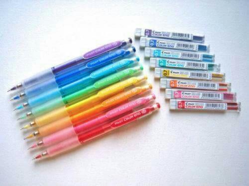 lapices mina colores