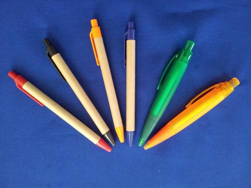 lápices pasta baratos para impresión publicidad