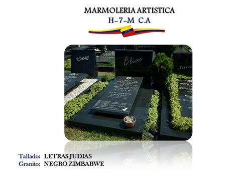 lapidas cementerios , panteones, grabado, mármol, granito
