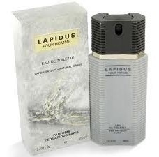 lapidus pour homme edt amostra 2,5ml spray 100%original