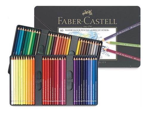 lápis aquarela profissional albrecht dürer 60 faber+ canson
