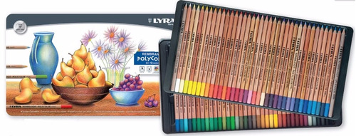 lápis de cor lyra rembrand polycolor prof cj 36 + bl canson