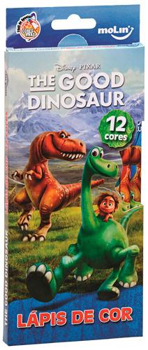 lápis de cor o bom dinossauro - 12 cores