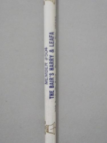 lápis de propaganda - coleção - americanos - bandeira  l 27