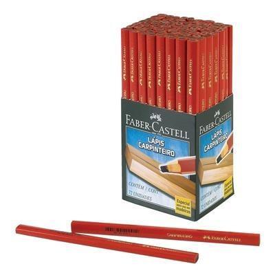 lápis marceneiro carpinteiro com 72 peças faber castell