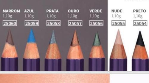 lápis para os olhos hinode dazzle original cores metalizada