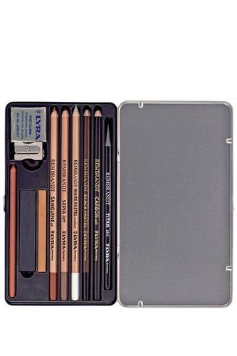 lápis pastel lyra rembrandt scketing cj.11 + bl. canson