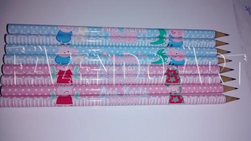 lápis pesonalizado qualquer tema 30 peças